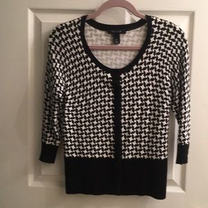 WHBM- snap front cardigan/sweater